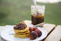 Bacon, Sage and Red Onion Jam - Sarah Graham Food Graham Recipe, Red Onion Jam, Sarah Graham, Baby Tomatoes, Buttermilk Biscuits, Roasted Tomatoes, Fritters, Stir Fry, Beignets