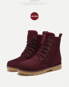2014 fashion winter shoes women's winter suede boots for men ladies snow  boot botines mujer chaussure femme - Dress Like A Queen