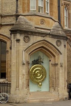 Corpus Clock, Cambridge, England  Got to see this while I was there.