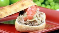 طريقة عمل سندويش التونة والزيتون - Delicious #tuna and olives #sandwich