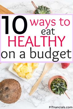 Find out how you can eat healthy on a tight budget. This is such a helpful list of tools and foods that you can use to live a healthier and happier lifestyle.
