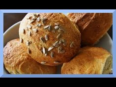 How to bake tasty bread buns at home - YouTube