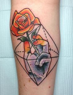 Tattoo designed and done by Nick Keiser and Into the Sun Living Arts West in Phoenixville, PA.