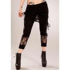 Legging gothique rock Vixxsin (Evil Clothing)
