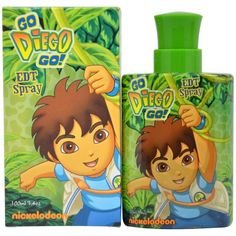 Go Diego Go 3.4 oz EDT for kids – LaBellePerfumes