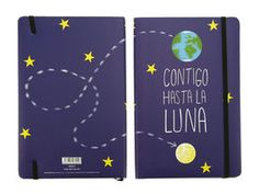 LIBRETA CONTIGO HASTA LA*14X21