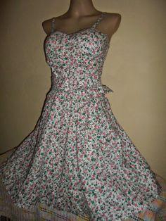 Brecho Online - Belas Roupas: Vestido Floral