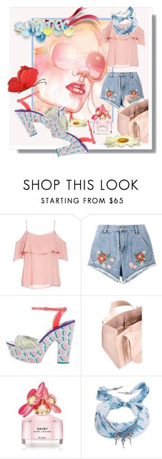 """""""Summer💛 Summer💛Summer💛 Summer💛"""" by kari-c ❤ liked on Polyvore featuring BB Dakota, House of Holland, Sophia Webster, Corto Moltedo, Marc Jacobs and DANNIJO"""