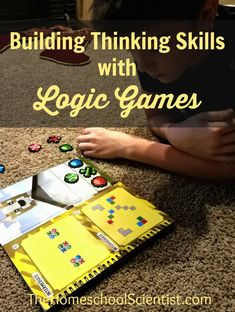 Build Thinking Skills With Logic Games