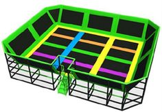 trampoline world, indoor trampoline park - Angel Trampoline Park Trampoline World, Indoor Trampoline, Trampoline Park, Playground Set, Outdoor Playground, Play Areas, Action, Lighting, Springboard