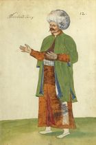 Dessin d´un marchand turc