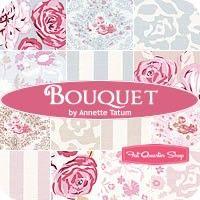 Bouquet Fat Quarter Bundle Annette Tatum for Free Spirit Fabrics