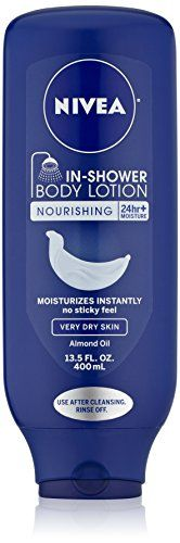 Nivea Body In-Shower Nourishing Body Lotion for Very Dry Skin, 13.5 Fluid Ounce Nivea http://www.amazon.com/dp/B00NV9KLXS/ref=cm_sw_r_pi_dp_Ev37ub0JC7WST
