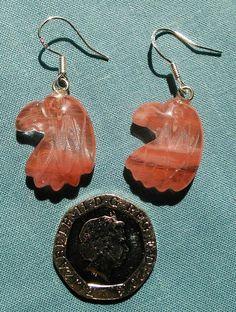 Thunderbird sterling silver earrings £3.00