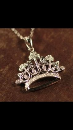 Irish Princess Necklace - Irish Princess Crown Pendant -Our Irish Princess Necklace is as royal of a beautiful as she most certainly is. She is Irish and as wise as she is independently strong. A true Irish princess Irish Wedding Traditions, Princess Tiara, Princess Party, Irish Jewelry, Irish Celtic, Jewelry Companies, Modern Jewelry, Jewelery, Fashion Jewelry