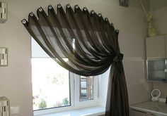 Curtains are one of the best ways to pull any room together - - Gardinen - Curtains For Arched Windows, Home Curtains, Hanging Curtains, Arched Window Treatments, Window Coverings, Home Decor Furniture, Diy Home Decor, Rideaux Design, Living Room Decor