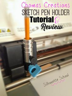 Amy Chomas Sketch Pen Holder Review & Tutorial