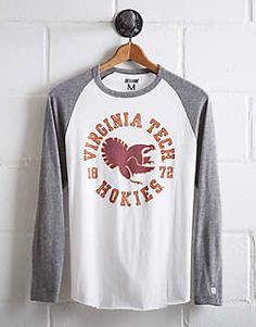 c6a5954f Tailgate Men's Virginia Tech Baseball Shirt - Free Returns Virginia Tech  Hokies, Baseball Shirts,
