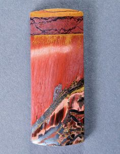 Dramatic Marra Mamba  Cabochon-  Rare Copper Red Color!