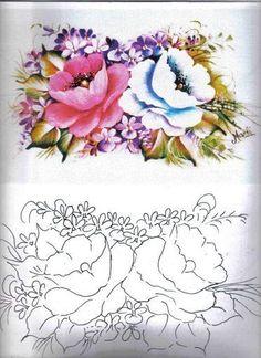 Pattern - Roses