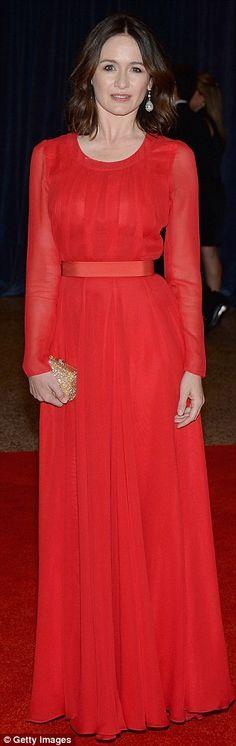 Emily Mortimer  #HauteCouture #RedCarpet