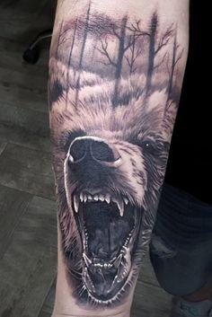 #tattoo bear