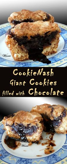 CookieNash-Giant Cookies / Muffins filled with Chocolate