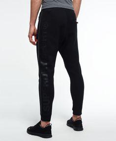 Superdry Pantalones de jogging ajustados Gym Tech - Pantalones de chándal  para Hombre Slim Joggers 51da069e25245