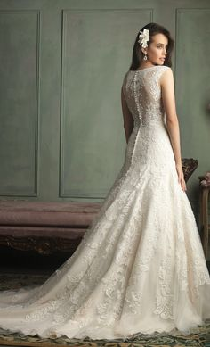 Hello lovelies! Today we're bringing you Part 2 of the new bridal collection from Allure Bridals. A wedding dress collection synonymous with style and sophistication – a look that makes our heart flutter like you've never seen before. It's the dress you dreamed of a little girl, transformed into the gown that's worthy of your read more...