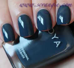 Scrangie: Zoya Designer Collection Fall 2012 Swatches and Review - Zoya Nail Polish in Natty