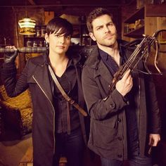 Trubel and nick ! Grimm tag team !!!
