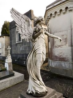 Cemetery angel 1 by dlambeaut on can find Angel statues and more on our website.Cemetery angel 1 by dlambeaut on Cemetery Angels, Cemetery Statues, Cemetery Art, Cemetery Monuments, Statue Ange, Deviantart, Old Cemeteries, Graveyards, I Believe In Angels