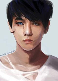 Baekhyun Fanart, Kpop Fanart, Bigbang Concert, Exo Anime, Exo Fan Art, Baekyeol, Korean Art, Bts And Exo, Soyeon