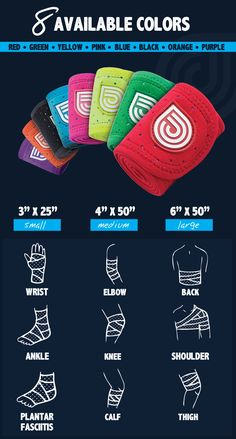 Instead of sitting stone-still while balancing a bag of frozen peas on your sore ankle, dip this compression wrap in water, pop it in the freezer, then Velcro it in place. The wrap won't budge, even while you run around. Available in nine colors and three sizes.