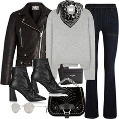 How To Wear flare Fashion Set Outfit Idea 2017 - Fashion Trends Ready To Wear For Plus Size, Curvy Women Over 20, 30, 40, 50