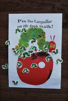 Very Hungry Caterpillar Birthday Party Ideas | Photo 1 of 7 | Catch My Party