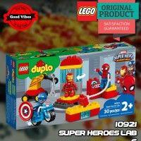 LEGO 10921 Super Heroes Lab DUPLO Mainan Anak Anak Superhero Original #thekingbricks #theking #thekingid #kingbricks #gvonline #uhappyihappy #tokolegoterpercaya #tokomainanoriginal #lego10921 Lego Duplo Sets, Lego Ninjago, Nerf, Avengers, Lab, Mint, Superhero, Toys, Activity Toys