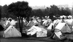 Jefferson Square Refugee Camp - 1906