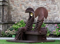 Philip Jackson (b. 1944) Winner of National Peace Sculpture Competition, Manchester City Council, 1987. Elected Fellow Royal Society of British Sculptors.