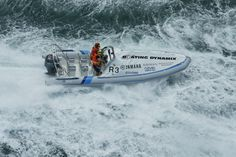 In 2002, Ludolph Toerien, teamed up with Jonny Boys of JBT Marine and Nick Parish to set about improving the brand, but not before they had put several Ballistic RIBs to the test in the unforgiving Trans-Agulhas race, in the shark-infested waters of Cape Agulhas off the southernmost tip of South Africa.  The Ballistics performed superbly.
