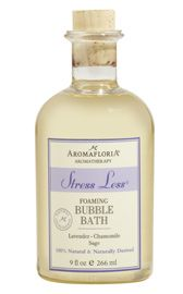 AromaFloria Aromatherapy Stress Less Foaming Bubble Bath with Lavender Chamomile and Sage, 9 fl. Sage Essential Oil, Bath Gel, Scented Oils, Stress Less, Bubble Bath, Lavender Oil, Bath And Body Works, Stress Relief, Aromatherapy