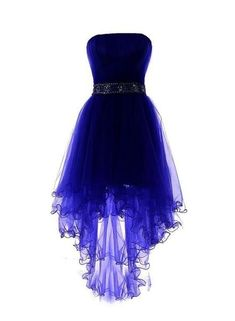 Royal Blue Tulle High Low Scoop Homecoming Dresses, Blue Party Dress, Shop plus-sized prom dresses for curvy figures and plus-size party dresses. Ball gowns for prom in plus sizes and short plus-sized prom dresses for Cute Prom Dresses, Grad Dresses, Dress Outfits, Fashion Dresses, Maxi Dresses, Awesome Dresses, Short Homecoming Dresses, Summer Dresses, Wedding Dresses