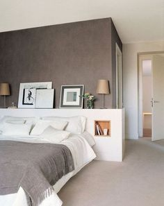 100 Modern Bedroom Design Inspiration The bedroom is the perfect place at home for relaxation and rejuvenation. While designing and styling your bedroom, Dream Bedroom, Home Bedroom, Modern Bedroom, Bedroom Decor, Master Bedrooms, Bedroom Ideas, Trendy Bedroom, Minimalist Bedroom, Bed Ideas