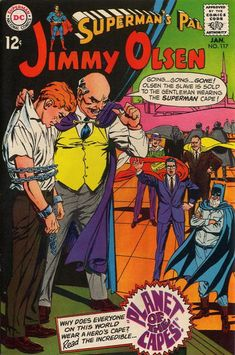 The Twelve Best Covers Of Superman's Pal, Jimmy Olsen   Comics Should Be Good! @ Comic Book Resources