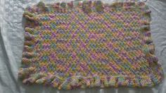 Beautiful Crocheted baby blankets make wonderful gifts for moms to be and for the gramas in Pacific, WA (sells for $25)
