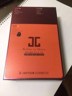 JAYJUN Refine To Shine Real Water Brightening Black Mask Facial Sheet (10pcs) #JAYJUN