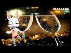 Silvester - Neujahr, soll dir Liebe und Gesundheit bringenHappy new Year Schlümpfe, Zoobe - YouTube