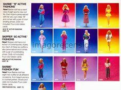 Imago Recensio: Barbie - Catalogo Mattel 1986 (parte due)