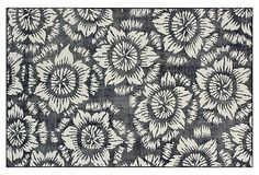 Lilyana Flat-Weave Rug, Navy on OneKingsLane.com
