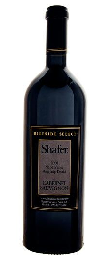 "2001 Shafer ""Hillside Select"" - A wine to which Robert Parker so graciously awarded 100 points"